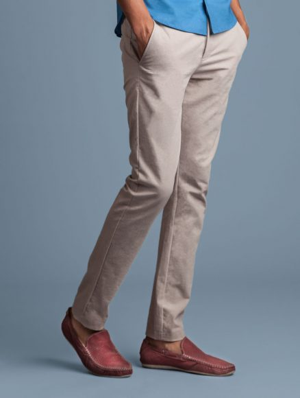 Jaggery Beige Men Chinos Indigenous
