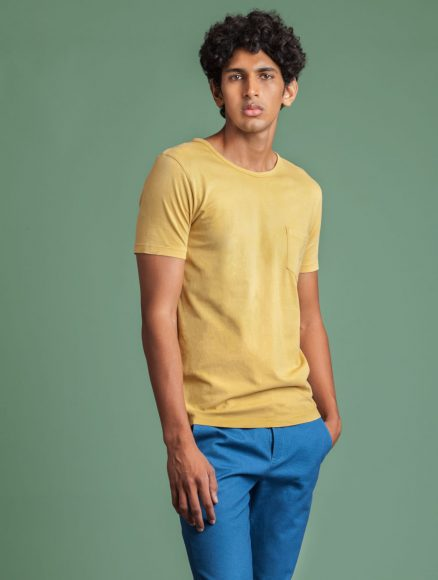 Men Yellow Myrobalan Tee Indigenous
