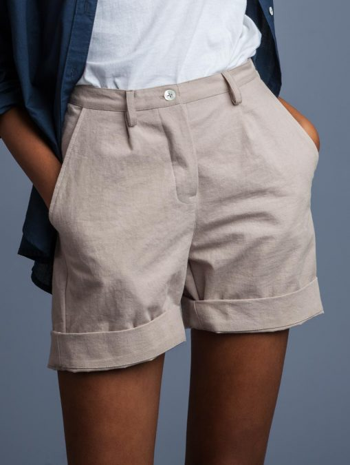 Women High Waist Shorts Indigenous